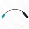 Picture of Car Radio DIN TO FAKRA Antenna Adapter For Audi/Volkswagen/Skoda Install Aftermarket Stereo