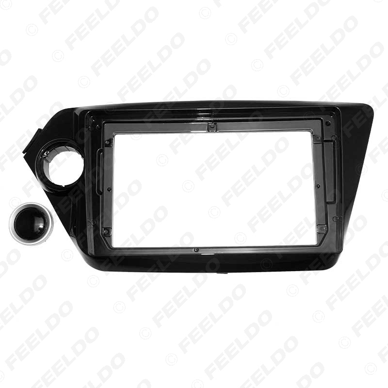 """Picture of Car Audio DVD Player Fascia Frame Adapter For KIA K2 9"""" Big Screen 2DIN Dash Fitting Panel Frame Kit"""