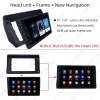"""Picture of Car 2Din Radio Stereo Fascia Frame for Toyota Wish 10"""" Big Screen CD/DVD Player Face Dash Mount Trim Kit"""