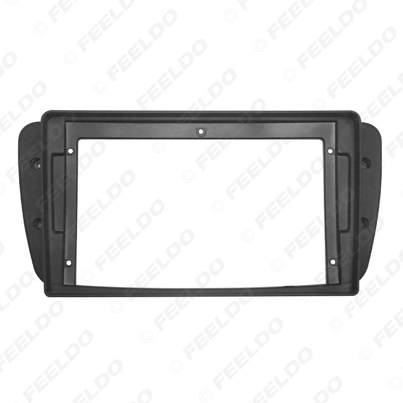 """Picture of Car Audio Fascia Frame Adapter For Seat Ibiza 9"""" Big Screen 2DIN Dash Fitting Panel Frame Kit"""