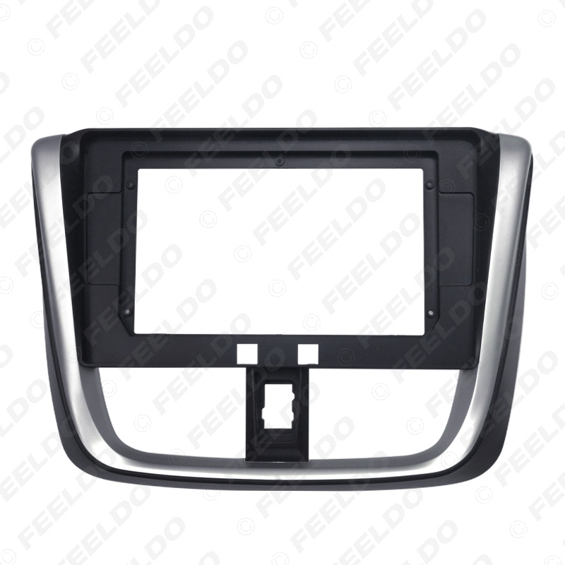 """Picture of Car Stereo 10.1"""" Big Screen Fascia Frame Adapter For Toyota vios YARiS L 2Din Dash Fitting Panel Frame Kit"""