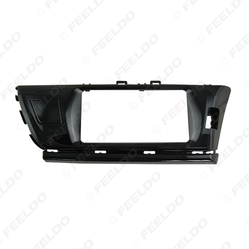 Picture of Car CD/DVD Audio Stereo Fascia Frame Plate For Toyota Corolla/Altis/Levin Radio 2DIN Dash Panel Trim Kit