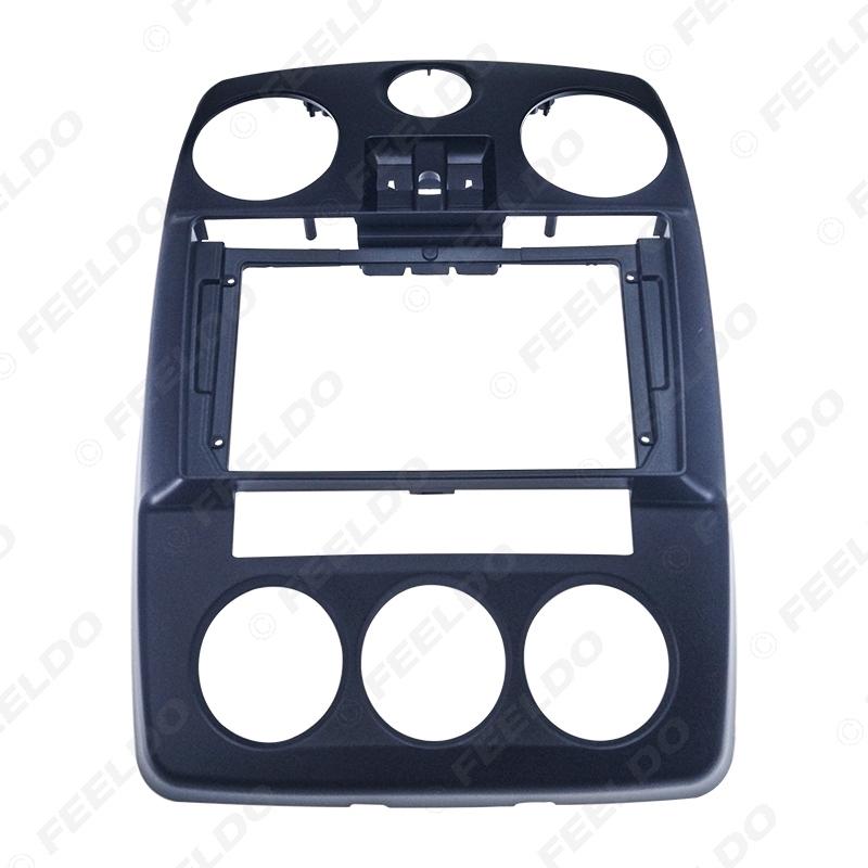 "Picture of Car Audio Fascia Frame Adapter For Chrysler-PT-Cruiser 05-10 9"" Big Screen 2DIN Dash Fitting Panel Frame Kit"