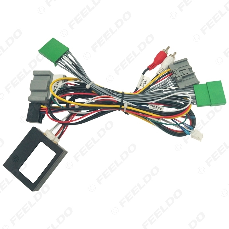Picture of Car Android 16PIN Power Wiring Harness Cable With Canbus For Volvo XC90 08-13 Car Audio Power Cable Connector