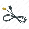 Picture of Car Audio Radio 6Pin AUX USB Cable Female Port Extension Wire For MINI ISO Fiat Grande Punto USB Cable Adapter