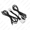 Picture of 12Pin Reverse Backup Camera Features Extended Wiring Harness Adapter For Mazda3/Mazda3 BM/Axela(2013~2017) OEM Factory Stereo #7021