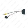 Picture of Car Radio Audio Parking Rear Camera Video Plug Converter Cable For Ford Kuga Focus Edge Parking Reverse Wire Adapter