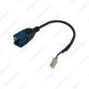 Picture of Car Audio Input Media Data Wire Mini USB To 4Pin Cable Adapter For Nissan Ford Series USB AUX Transfer