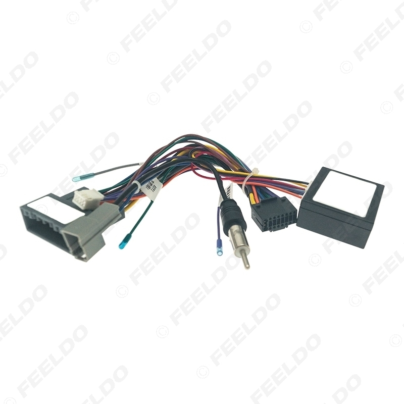Picture of Car Audio 16PIN CD/DVD Player Power Calbe Adapter With Canbus Box For Honda Fit 2021 Stereo Plug Wiring Harness