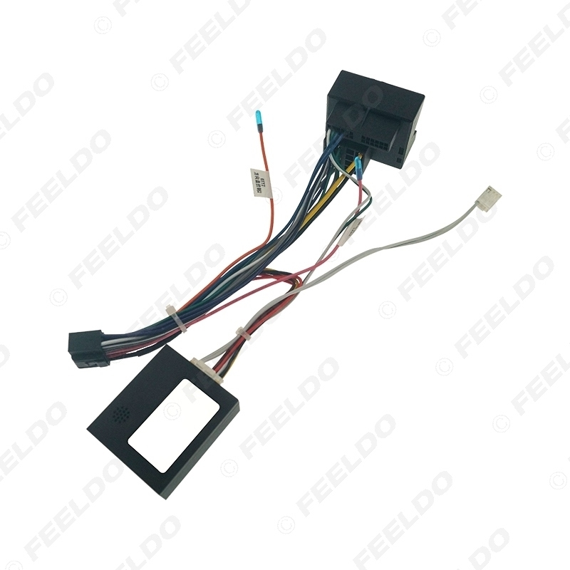 Picture of Car Audio 16PIN DVD Player Power Calbe Adapter With Canbus Box For Mercedes-Benz E-Class W211/W220 Stereo Plug Wiring Harness