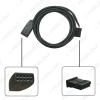 Picture of Car Radio USB AUX-In Cable Plug AUX/USB Socket For BMW 3-Series E46 01-05 Wire Harness AUX Cable Adapter