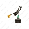 Picture of Car USB Data Adapter Switch Button Cable wiring Harness For Volkswagen Audi Skoda USB Cable Audio Adapter