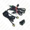 Picture of Auto Styling Fog Light Wiring Harness Socket Switch with LED Indicators Relay For Nissan H11 Wire Adapter Kits