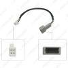 Picture of Car Audio Input Media Data Wire Original Plug 4P Car AUX Adapter For KIA KX5 Sorento Hyundai Sonata AUX Cable Adapter