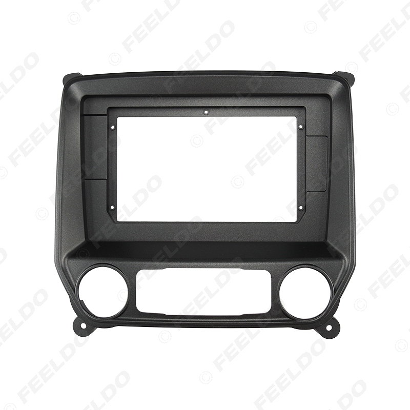 """Picture of Car Stereo 2Din Fascia Frame Adapter For Chevrolet Silverado 2014 10.1"""" Big Screen Audio Dash Fitting Panel Frame Kit"""