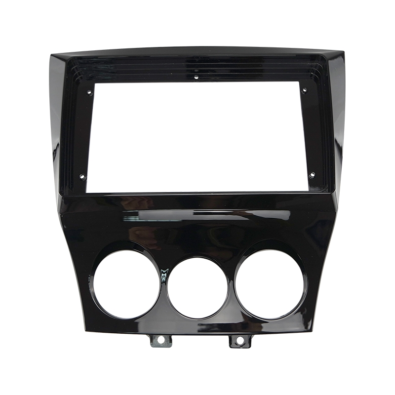 """Picture of Car 2Din Audio Face Plate Fascia Frame For Mazda RX8 2011 9"""" Big Screen Radio Stereo Panel Dash Mount Refitting Kit"""