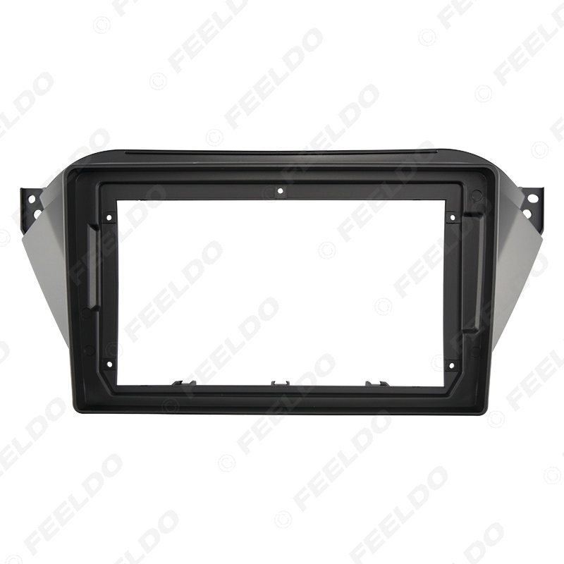 """Picture of Car 2Din Audio Face Plate Fascia Frame For JAC Refine S2 2015 9"""" Big Screen Radio Stereo Panel Dash Mount Refitting Kit"""