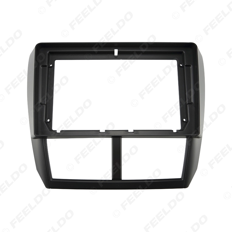"""Picture of Car 2Din Audio Face Plate Fascia Frame For Subaru Forester 2008 9"""" Big Screen Radio Stereo Panel Dash Mount Refitting Kit"""