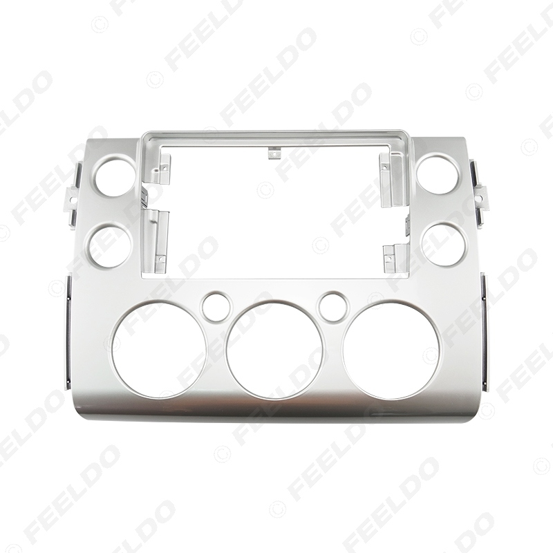 """Picture of Car Audio Fascia Frame Adapter For Toyota FJ CRUISER 2007+ 9"""" Big Screen 2DIN Dash Fitting Panel Frame Kit"""