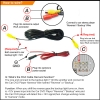 Picture of  Universal Car Rear View Camera  Auto Reversing Backup Camera DC12V
