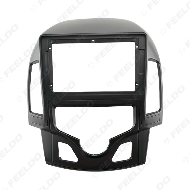 """Picture of Car Audio Fascia Frame Adapter For Hyundai I-30 (LHD) 2009 9"""" Big Screen 2DIN Dash Fitting Panel Frame Kit"""