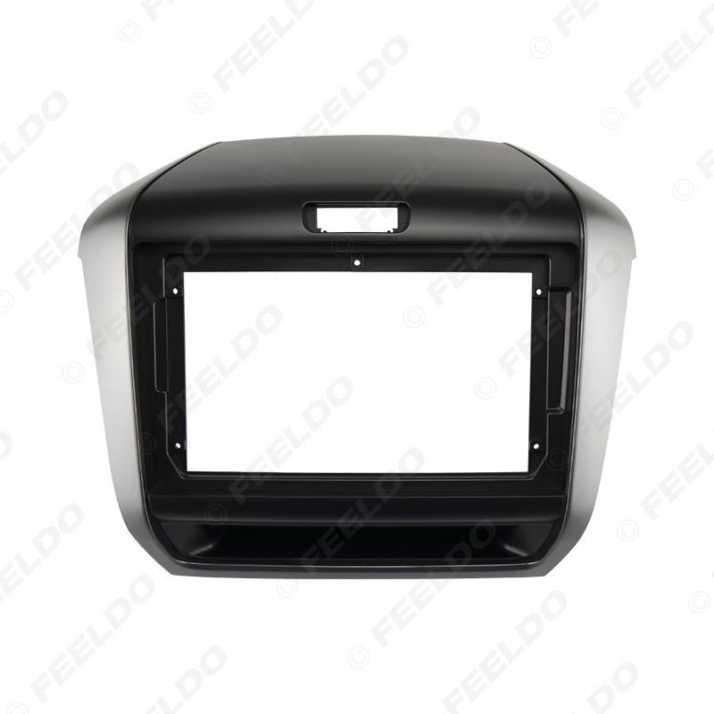 """Picture of Car Audio Fascia Frame Adapter For Honda Freed 2017+ 9"""" Big Screen 2DIN Dash Fitting Panel Frame Kit"""