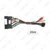 Picture of Car 16PIN Radio Wiring Harness Adaptor With RCA Audio Heads For KIA Carens IX35 K2/K3/K4/K5 Power Calbe Wire Plug Harness