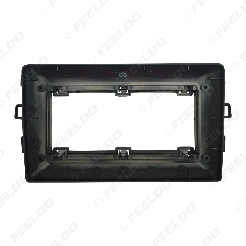 Picture of Car 10.1 Inch Audio Face Plate Fascia Frame For Toyota Auris 06-11 2Din Big Screen Radio Stereo Panel Dash Mount Frame Kit