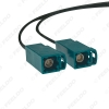 Picture of Dual FAKRA Female To Dual FAKRA Male Car Stereo Radio Antenna Connector Adapter